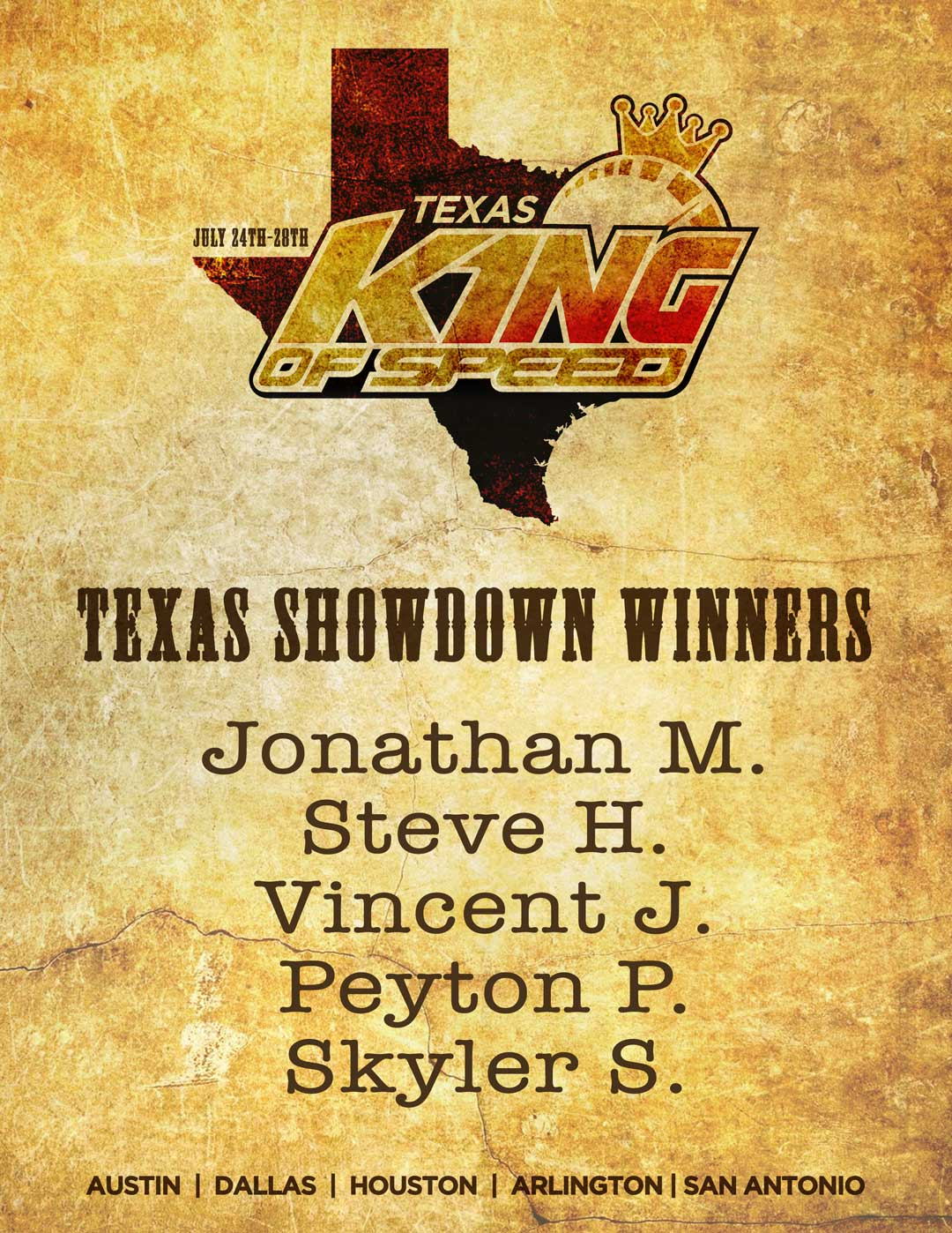 king of speed texas