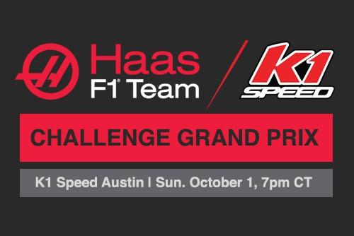 Haas F1 x K1 Speed Challenge Grand Prix