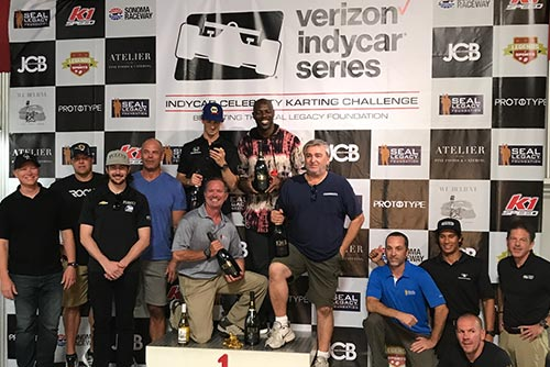 IndyCar Celebrity Karting Challenge in Bay Area