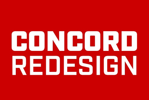 Concord Redesign: You Asked. We Delivered. Race Now!