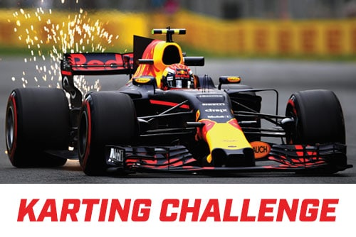 Red Bull Racing x K1 Speed Karting Challenge