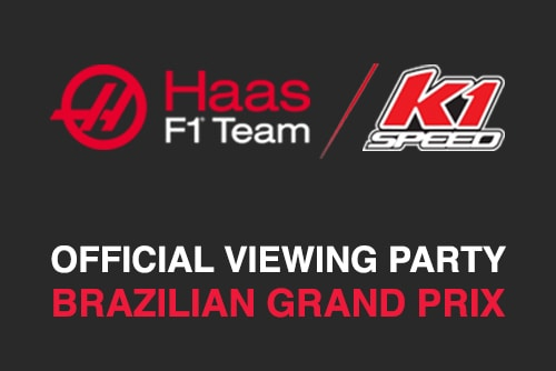 Official Haas F1 Viewing Party | Brazilian Grand Prix