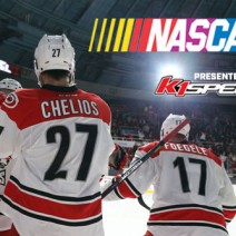 nascar night charlotte checkers