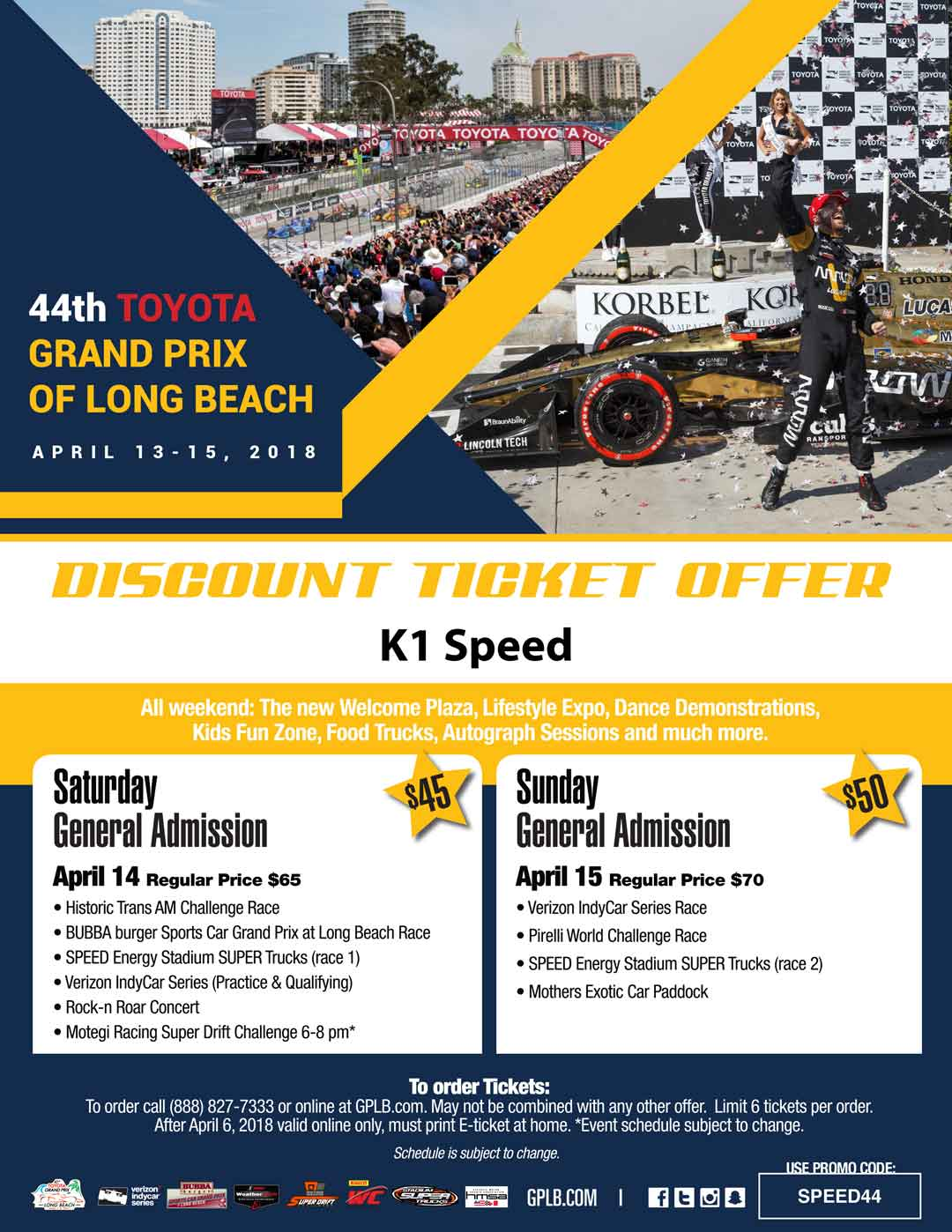 TGPLB Discount Ticket Offer
