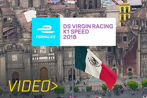 Epic DS Virgin Racing Mini ePrix at K1 Speed Mexico