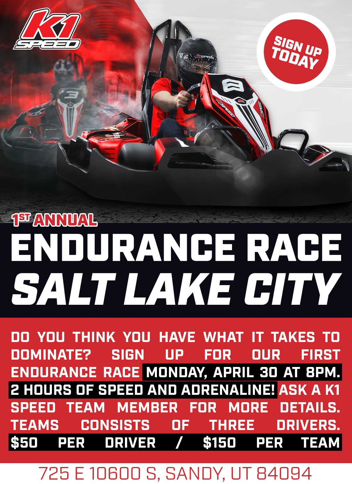 K1 Speed Announcing The First Annual Endurance Race At