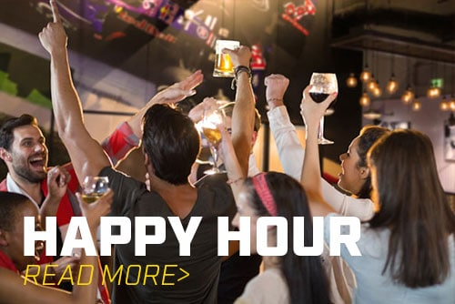 Enjoy Happy Hour at K1 Speed!