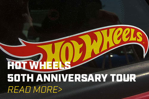 Hot Wheels 50th Anniversary Legends Tour Begins