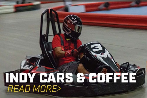 Come Out to K1 Speed for Indianapolis Cars and Coffee