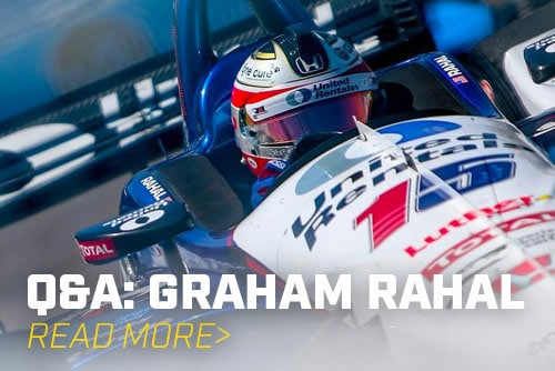 Q&A: IndyCar's Graham Rahal Talks Karting, Cars