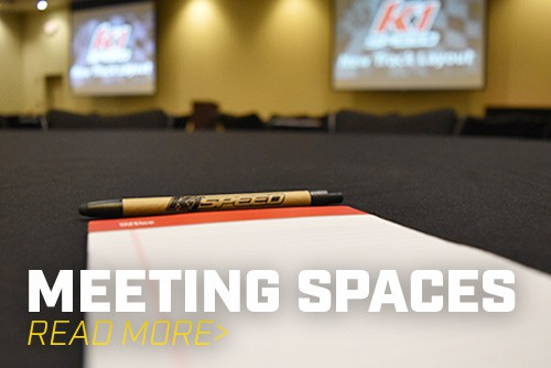 Add a Meeting Room For Your Next Event at K1 Speed