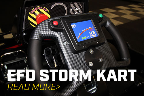 Storm Karts Arriving at Irvine and Ontario!