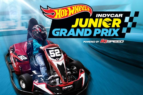 Enter the Hot Wheels IndyCar Junior Grand Prix