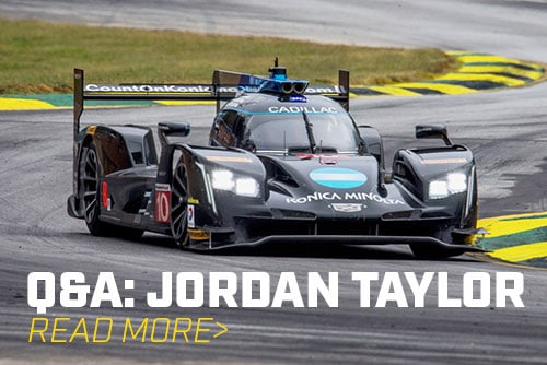 Interview with Jordan Taylor About Karting