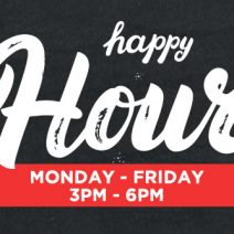 Celebrate Happy Hour At Our Chicago Locations!