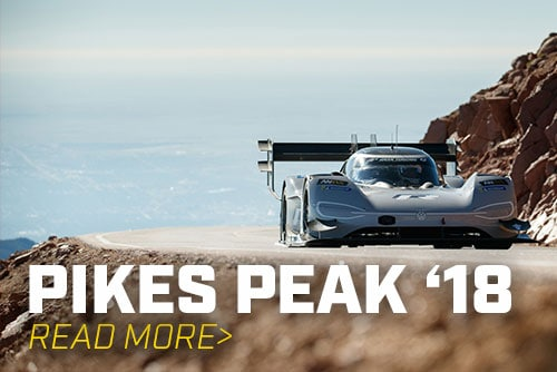 VW Shatters Pikes Peak Record with All-Electric Car
