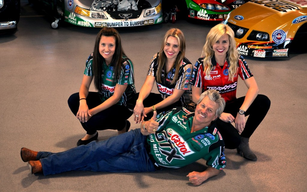 john force n daughters
