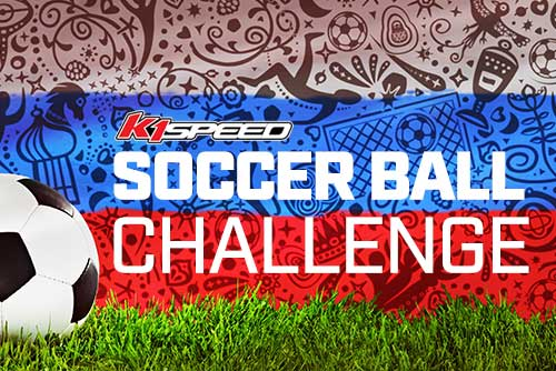 k1 speed soccer ball challenge