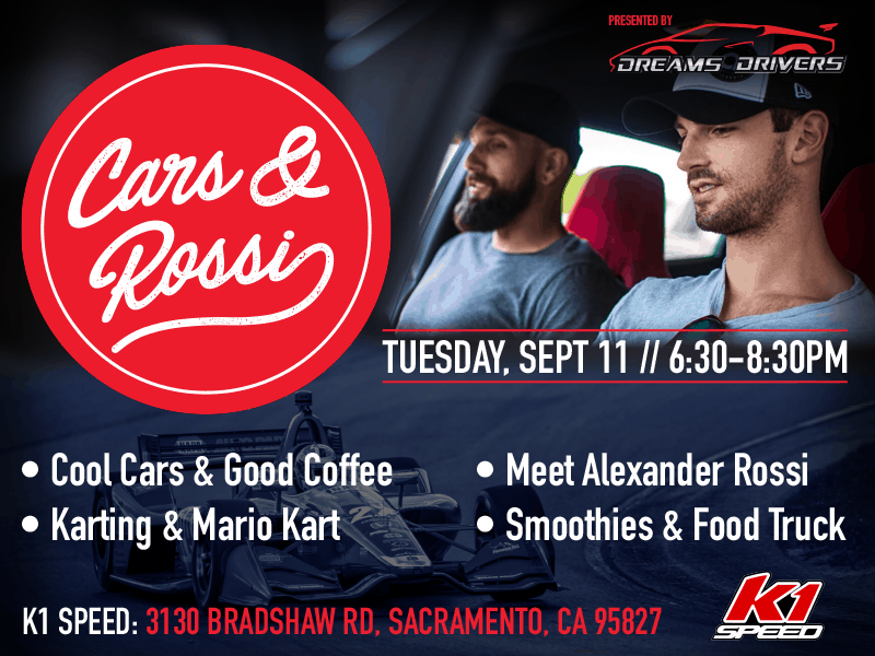 cars and rossi event