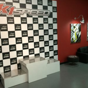 K1 Speed Dallas Podium