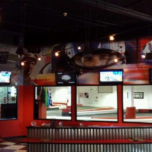 K1 Speed Seattle Lobby