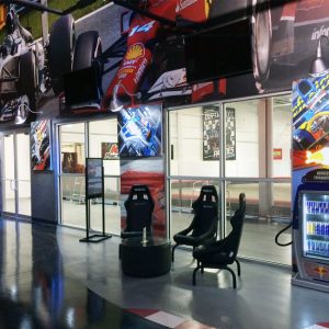 K1 Speed Boston Lobby