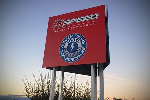 featured image of K1 Speed Lyon sign