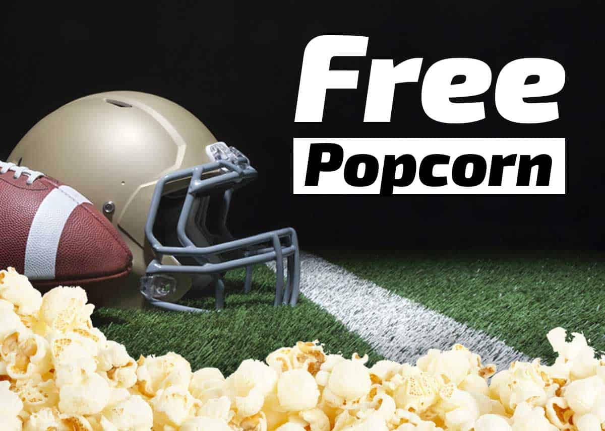 free popcorn k1 speed sunday special image