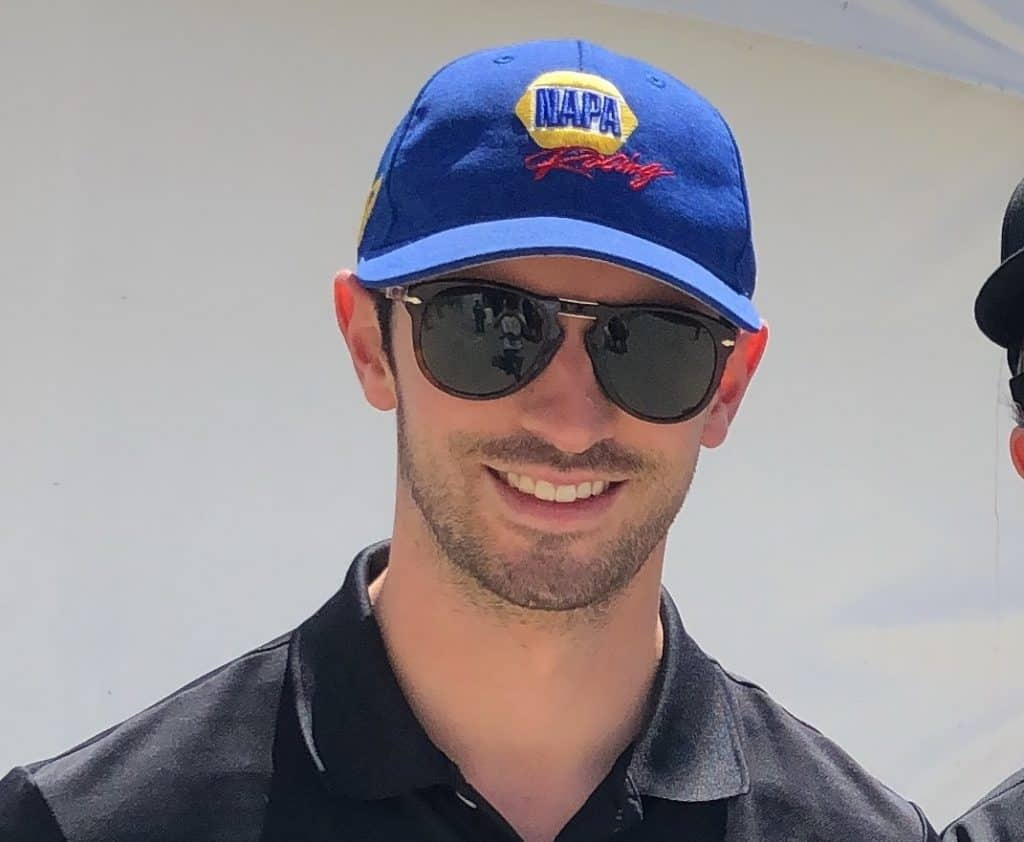 alexander rossi talks with k1 speed in long beach