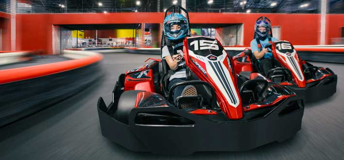 Indoor Kart Racing K1 Speed