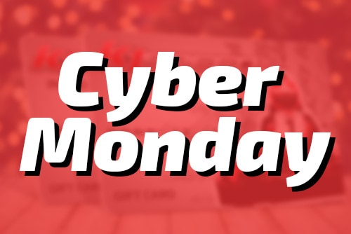 CYBER MONDAY: Our Popular Gift Card Holiday Promo is Back!