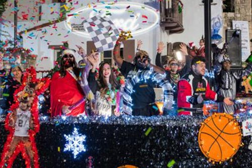 San Antonio Enters 38th Ford Holiday River Parade