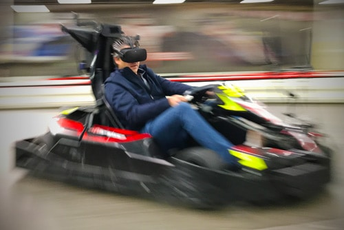 VR Karting is a Real-Life Mario Kart Experience