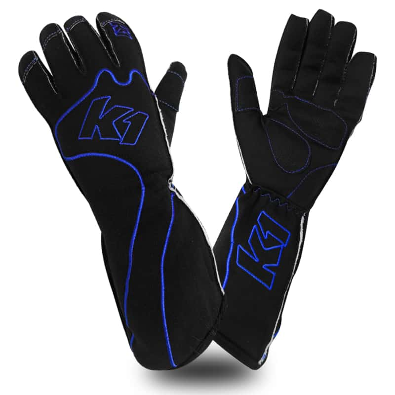 photo of RS1 Karting Gloves in blue