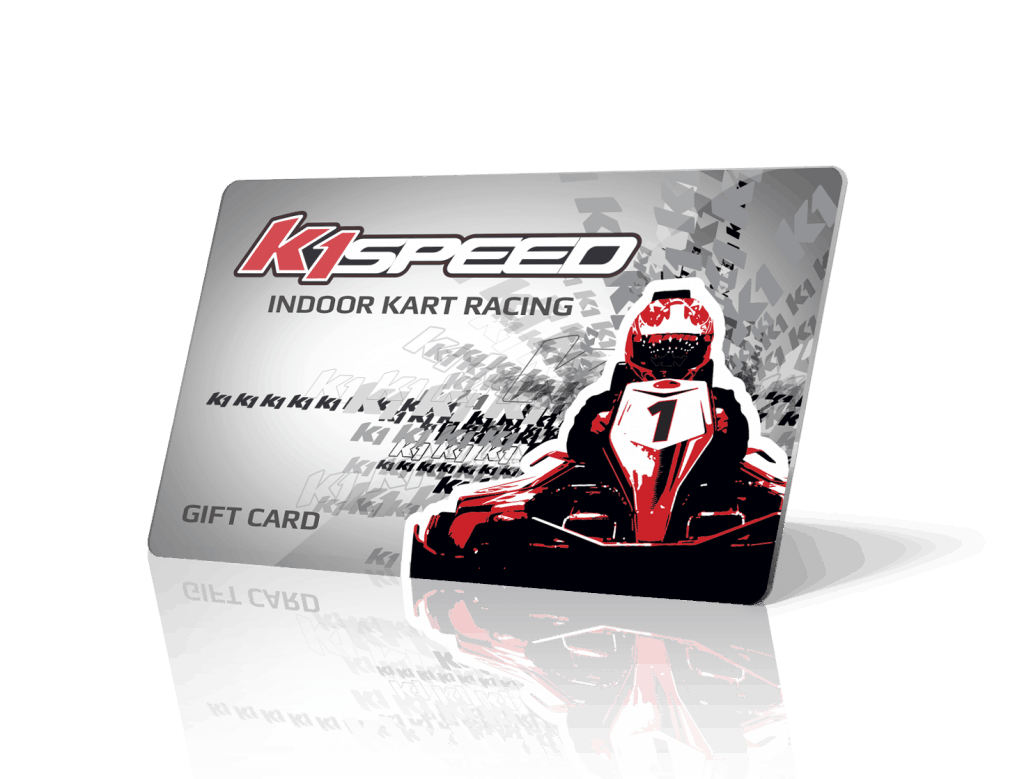 picture of a k1 speed gift card