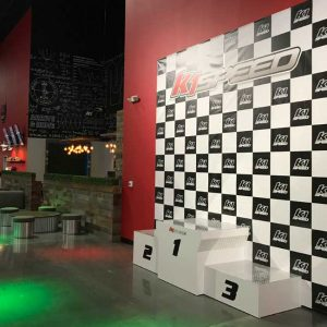 K1 Speed Portland Podium