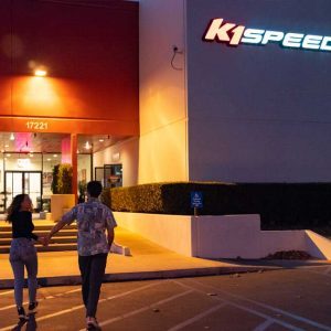 K1 Speed Irvine Entrance
