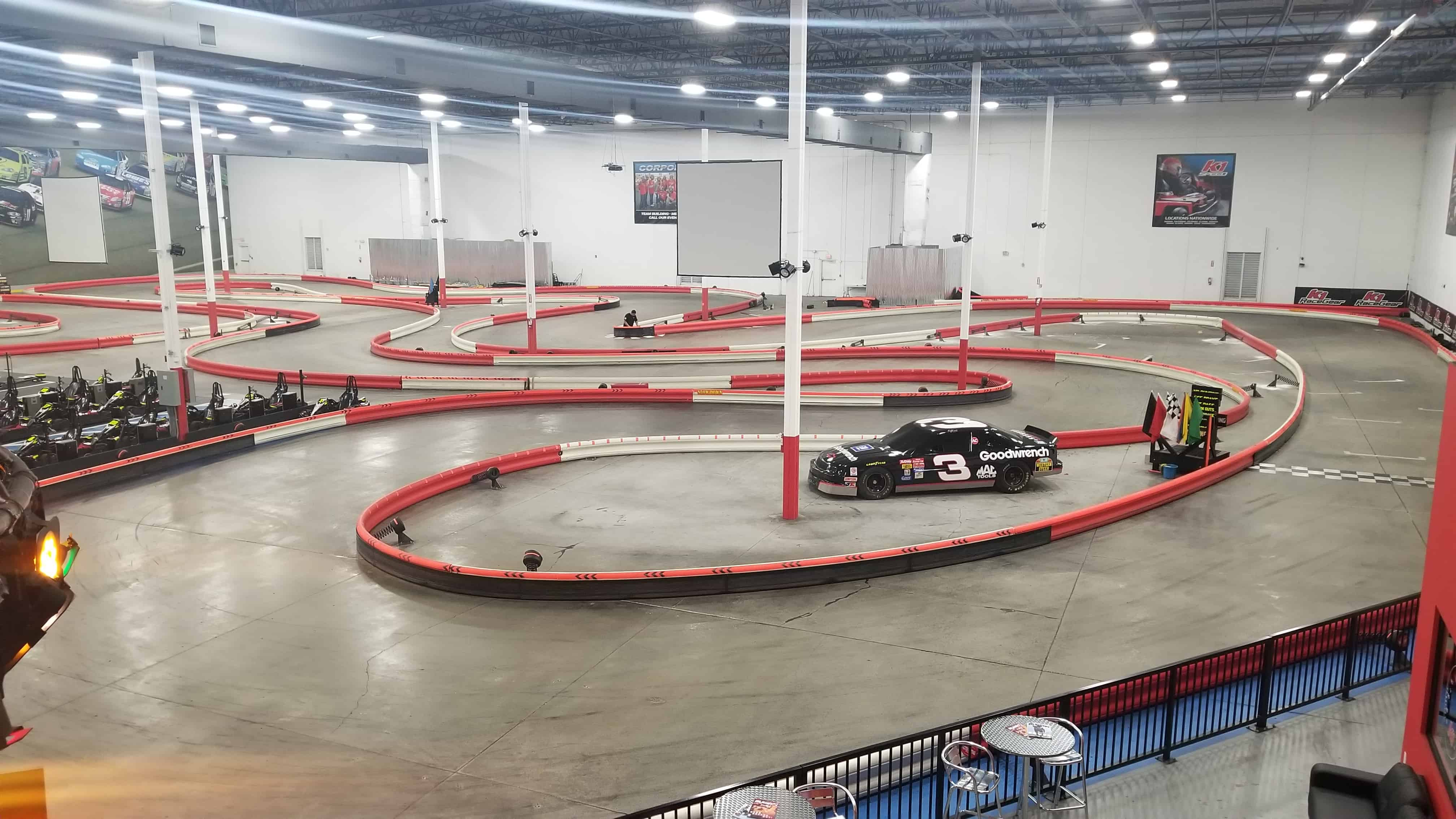 NEW TRACK LAYOUT FOR K1 SPEED ORLANDO! | K1 Speed