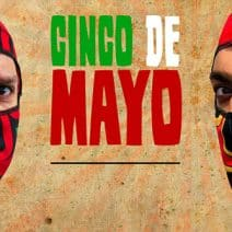 Get Your Lucha Libre Mask Headsocks on Cinco de Mayo!