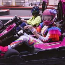 JoJo Siwa Spends Birthday Go Karting with Kendall Vertes
