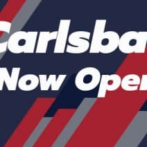 Carlsbad Has Reopened for Racing!
