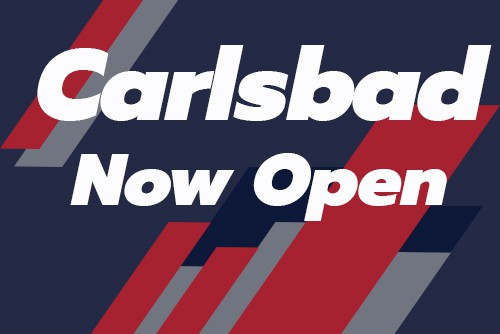 "graphic reads ""carlsbad now open"""