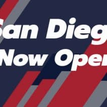 San Diego is Open Once Again!