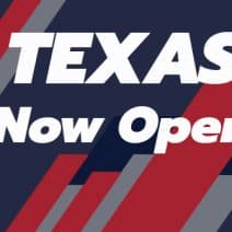 Our Texas Locations Have Reopened!