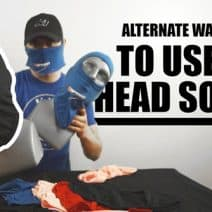 How to Make a Face Mask from a Headsock
