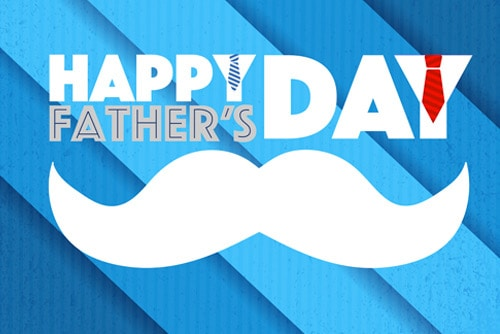 "thumbnail image for fathers day post with mustache graphic reading ""happy fathers day"""