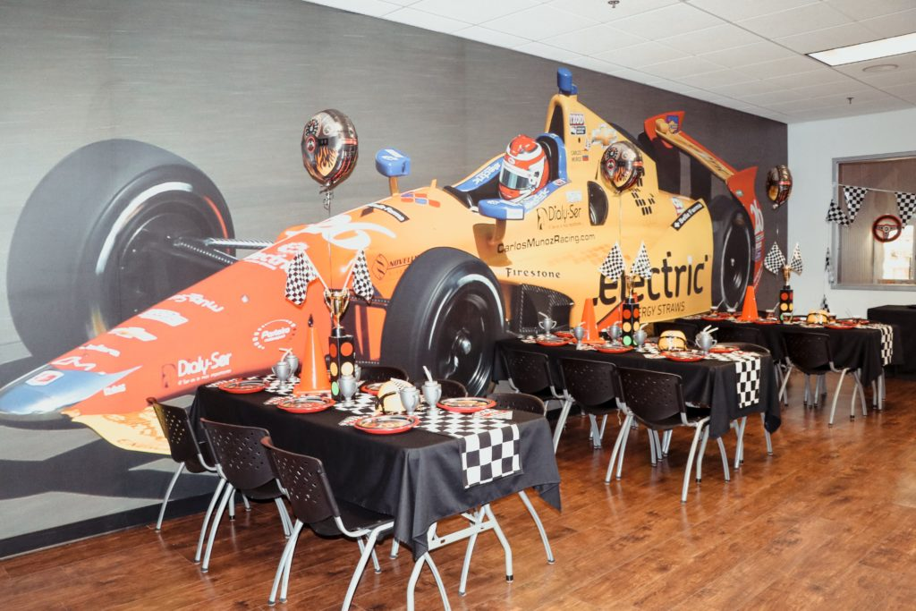 How To Plan The Ultimate Race Car Racing Themed Birthday Party K1 Speed