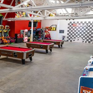 K1 Speed Burbank Game Room