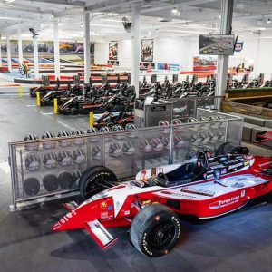 K1 Speed Burbank Track Entrance